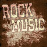 Retro music poster. Music old poster in the grunge style Royalty Free Stock Image