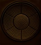 Retro music speakers,speakers for music. Stock Photography