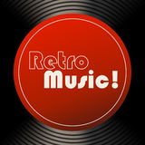 Retro music Stock Photography