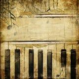 Retro musica Immagine Stock Libera da Diritti