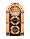 Retro- Musikautomat getrennt Lizenzfreie Stockfotos