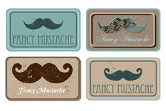 Retro mustache Royalty Free Stock Photos