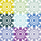 Retro- Muster Vektor Abbildung