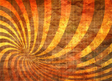 Retro- Muster auf Wand Lizenzfreies Stockfoto