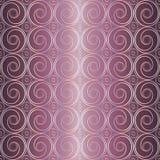 Retro- Muster des Kreises Lizenzfreies Stockfoto