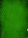 Retro- Muster - Grünblätter Lizenzfreie Stockfotos
