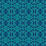 Retro- Muster mit Neonfarben lizenzfreie abbildung