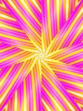 Retro- Muster-Rosa-Streifen vektor abbildung
