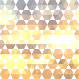 Retro- Muster von geometrischen Formen Lizenzfreies Stockbild