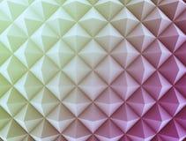 Retro- Muster von geometrischen Formen Stockfoto