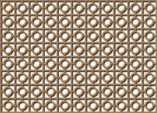 Retro- Musterleuchte vektor abbildung