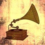 Retro muziek stock fotografie
