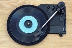 Retro muziek van oud vinyl Royalty-vrije Stock Afbeeldingen