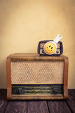 Retro muziekconcept Stock Foto