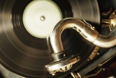 Retro muzikaal thema Royalty-vrije Stock Foto
