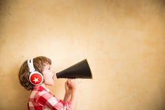 Retro muzyczny pojęcie Fotografia Stock