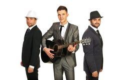 Retro muzykalny zespół zdjęcie royalty free