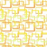 Retro naadloos behang Stock Foto's