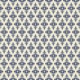 Retro naadloos patroon Royalty-vrije Stock Foto