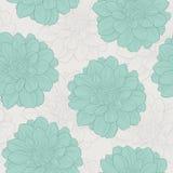Retro naadloos patroon met bloemen Patroon 08 Royalty-vrije Stock Afbeeldingen