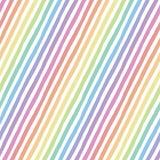 Retro naadloos patroon met diagonale strepen Stock Afbeeldingen