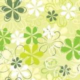 Retro naadloos patroon, vector Stock Afbeelding
