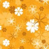 Retro naadloos patroon, vector Stock Foto's