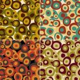 Retro naadloos patroon, vector royalty-vrije illustratie