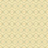 Retro naadloos van het bloemenpatroon Royalty-vrije Stock Foto