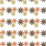 Retro naadloos van het bloemenpatroon Stock Afbeelding