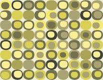 Retro naadloos vierkant patroon Stock Fotografie