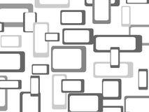 Retro naadloze patroonachtergrond Stock Fotografie