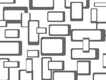 Retro naadloze patroonachtergrond Stock Afbeelding