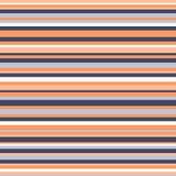 Retro naadloze uitstekende kleuren van het streeppatroon Stock Afbeeldingen