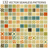 Retro- nahtlose Muster Stockbilder