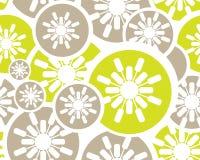 Retro- nahtloser mit Blumenhintergrund Lizenzfreies Stockbild