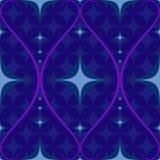 Retro nahtloses abstraktes geometrisches Muster Stockfotos