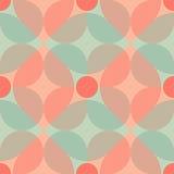 Retro- nahtloses Muster Stockfotografie