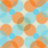 Retro- nahtloses Muster Stockfoto