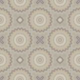 Retro- nahtloses (wiederholendes) Muster Die Formen sind in den weichen Farben entworfen Stockfoto