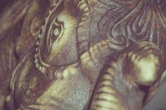 Retro Netsuke Elephant Stock Image