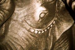 Retro Netsuke Elephant Royalty Free Stock Image
