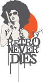 Retro Never Dies Stock Images