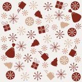 Retro New Year background Stock Images
