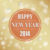 Retro New Years wish background Royalty Free Stock Photo