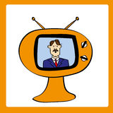 Retro News Bulletin Royalty Free Stock Images