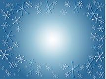 retro śnieg Obrazy Royalty Free