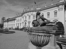 A Retro Noon in a Palace stock images