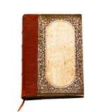 Retro notitieboekje stock foto