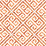 Bezszwowy grka klucza tła wzór w Trzy kolor różnicach Fotografia Royalty Free